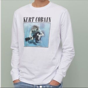 Kurt Cobain Nevermind Graphic Tee